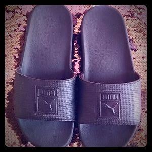 Women's Puma Platform Slides/Sandals Size 7.5